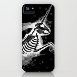 Unicorn Bunny - inverted iPhone Case