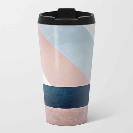 Complex Triangle Metal Travel Mug