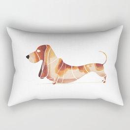 basset Rectangular Pillow