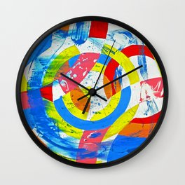 Composition #2 by Michael Moffa Wall Clock