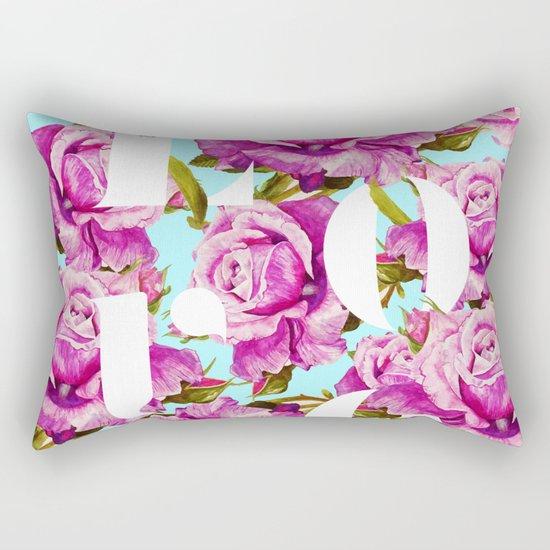 Love #society6 #decor #buyart Rectangular Pillow