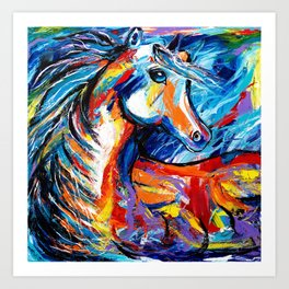 Magic Horse Art Print