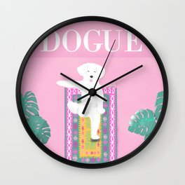 Dogue - Yoga Wall Clock