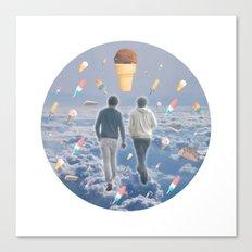 Bill & Nick's Ice Cream Adventure! Canvas Print