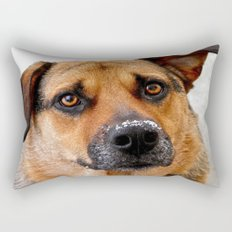 My Nose is Cold Rectangular Pillow