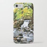 waterfall iPhone & iPod Cases featuring Waterfall by Juliana RW