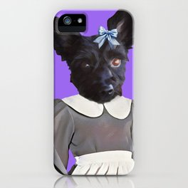 Izzy The Dog iPhone Case