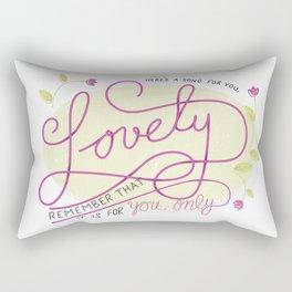 My Lovely Rectangular Pillow
