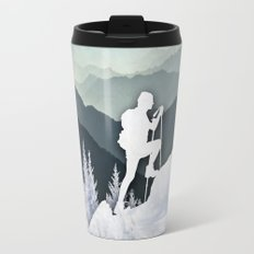 Winter Mountains Travel Mug