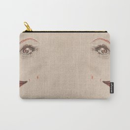 First Half Face Carry-All Pouch
