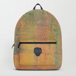 Simon Carter Painting Dispelling The Myth Backpack