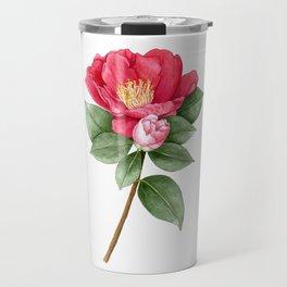 Camellia sasanqua Travel Mug