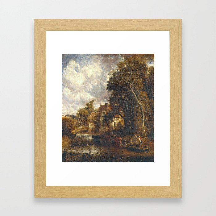John Constable 1776–1837   The Valley Farm Framed Art Print