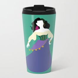Esmeralda from The Hunchback of Notre-Dame Metal Travel Mug