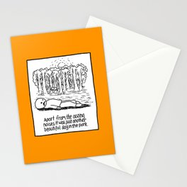 OOZING NOISES Stationery Cards