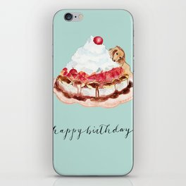 Happy Birthday iPhone Skin