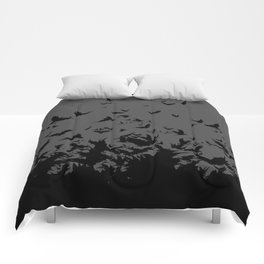 An Unkindness of Ravens (Grey) Comforters