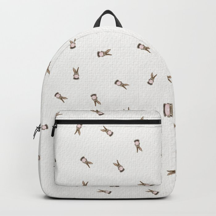 Bubble Gum Bunny Backpack
