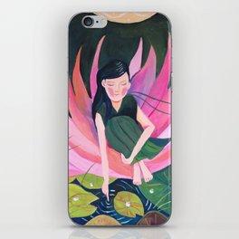 Water lily fairy   Yuko Nagamori iPhone Skin