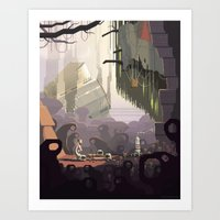 Scene #14: 'Ben' Art Print