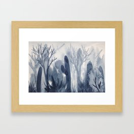 Memory Landscape 7 Framed Art Print