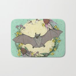 big brown bat. Bath Mat