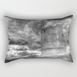 Hadleigh Castle Rectangular Pillow
