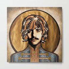 Boho Beatle ( Ringo ) Metal Print