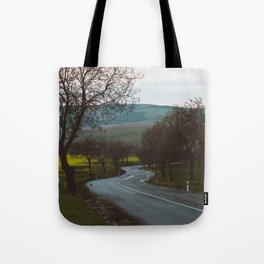 Along a rural road - Landscape and Nature Photography Tote Bag