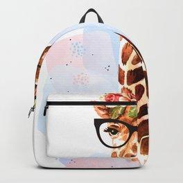 Giraffe Neck Gator Giraffe Backpack