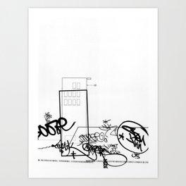 AutoCUNT 023 Art Print