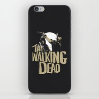 the walking dead iPhone & iPod Skins featuring The Walking Dead by justjeff