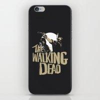 walking dead iPhone & iPod Skins featuring The Walking Dead by justjeff