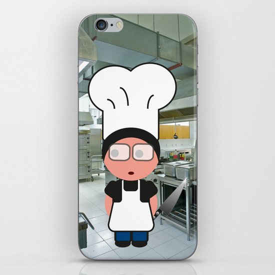 Job serie: the chef iPhone & iPod Skin