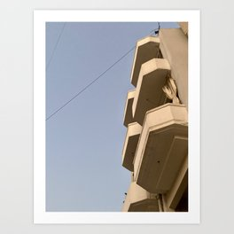 Beirut Buildings / Concrete Brutalist Architecture  Art Print