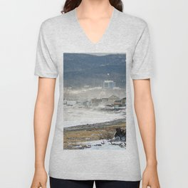 The Sea and the Cove Unisex V-Neck