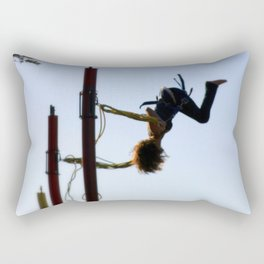 Bungee Jump Rectangular Pillow