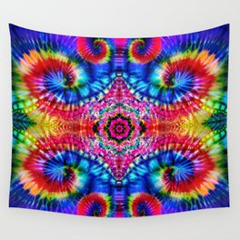 Tie-Dye Psychedelic Wall Tapestry