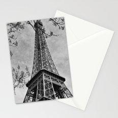 Half a Eiffel Tower Stationery Cards