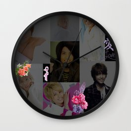 Floral Love Tego Wall Clock