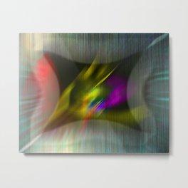 Coloratum metallum Metal Print