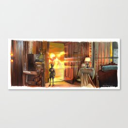 Close Encounters of the Third Kind - Toys! Canvas Print