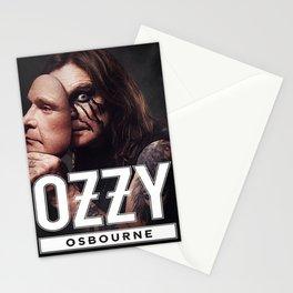 no more tour 2 ozzy 1osbourne Stationery Cards