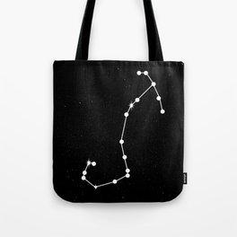 SCORPIO (BLACK & WHITE) Tote Bag