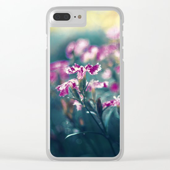 Underwater Wishes Clear iPhone Case
