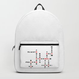 Money Heist - Black Version Backpack