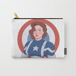 Captain Peggy Carter Carry-All Pouch