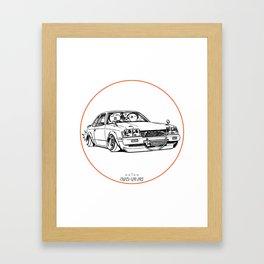 Crazy Car Art 0208 Framed Art Print