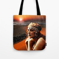 oasis Tote Bags featuring Oasis by Danielle Tanimura