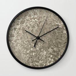 Crushed velvet Wall Clock